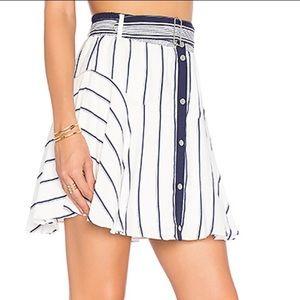 Lovers + Friends | Fountain Skirt in Stripe